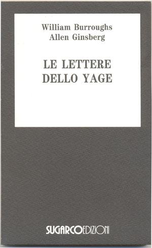 Lettere dello Yage (Le)William Burroughs